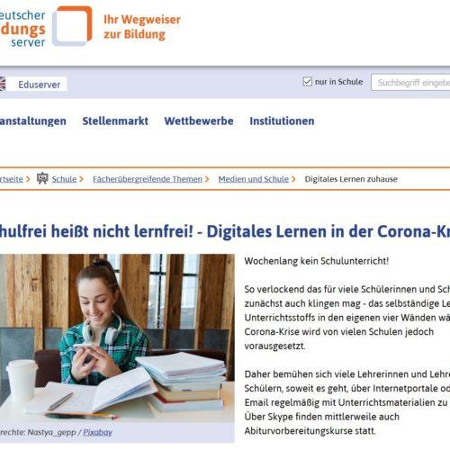 Linksammlung deutscher Bildungsserver